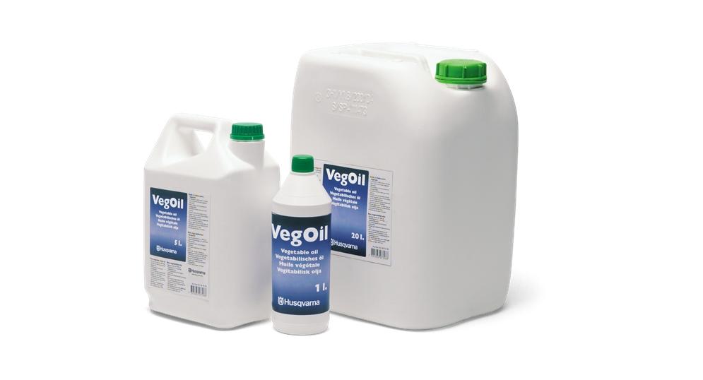 HUSQVARNA saw chain oil, Vegoil